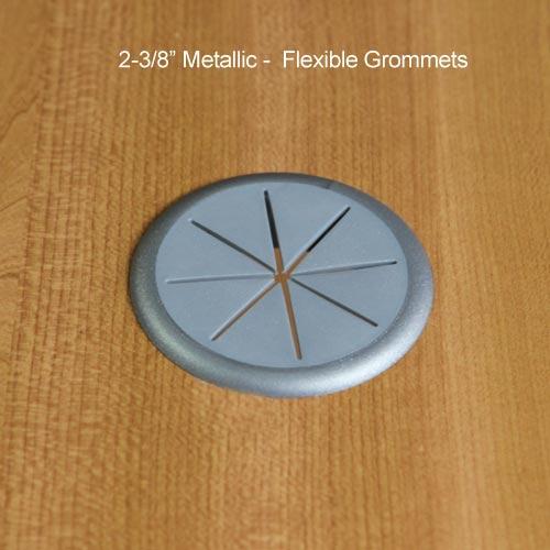 flexible desk grommet in package - icon
