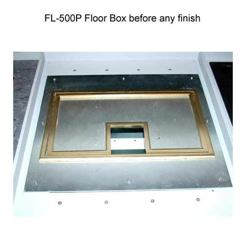 fsr fl 500p floor box without finish icon