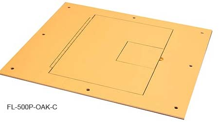 FSR FL-500P Floor Box FSR-FL-500P-OAK-C