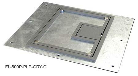 FSR FL-500P Floor Box FSR-FL-500P-PLP-GRY-C