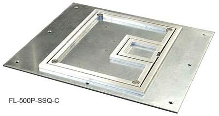 FSR FL-500P Floor Box FSR-FL-500P-SSQ-C