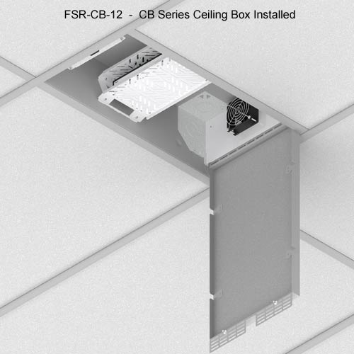 fsr cb series ceiling box installed icon