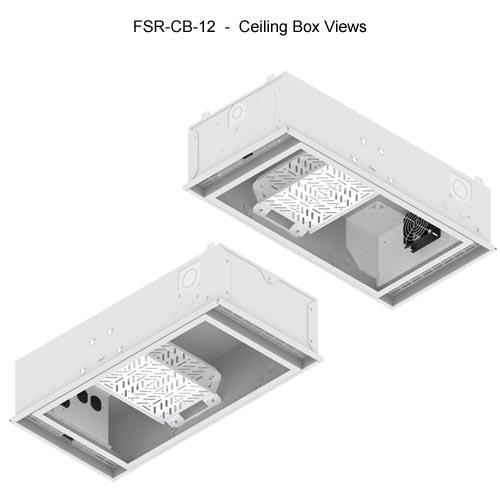 fsr cb series ceiling box views icon