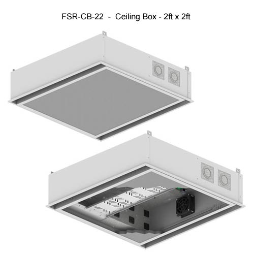 fsr cb series ceiling box 2 feet by 2 feet icon