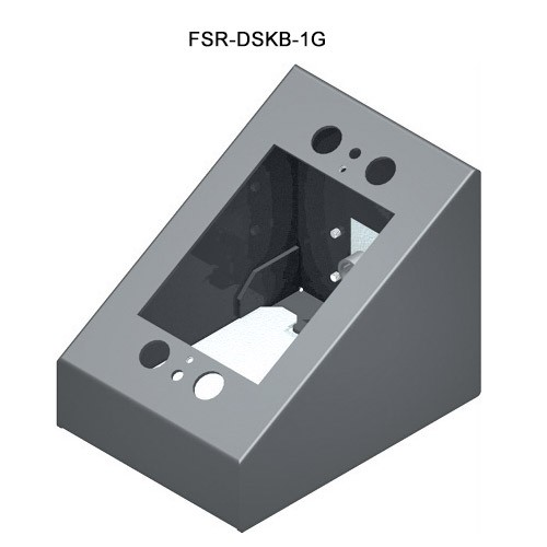 FSR 1-Gang Desktop Wallplate Mount
