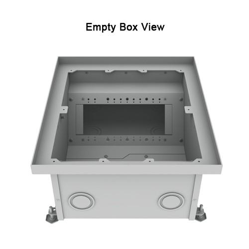 empty box view of fsr high load capacity floor box icon