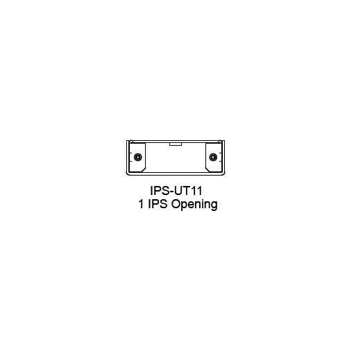 FSR IPS Wall Plates, Rack Mount and Under Table Mounts FSR-IPS-UT11