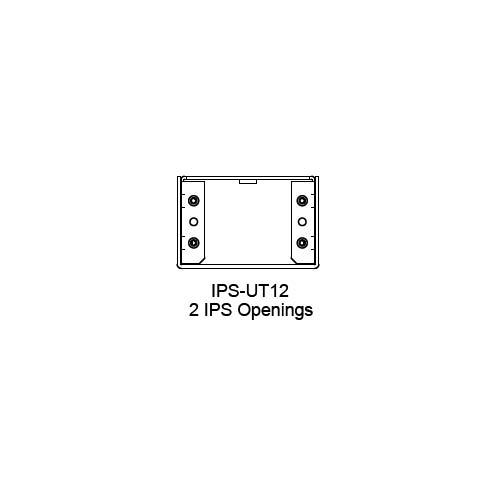 FSR IPS Wall Plates, Rack Mount and Under Table Mounts FSR-IPS-UT12