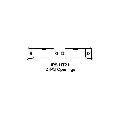 FSR IPS Wall Plates, Rack Mount and Under Table Mounts FSR-IPS-UT21