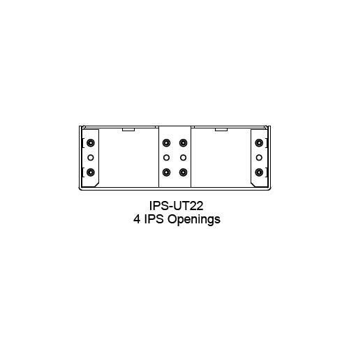 FSR IPS Wall Plates, Rack Mount and Under Table Mounts FSR-IPS-UT22