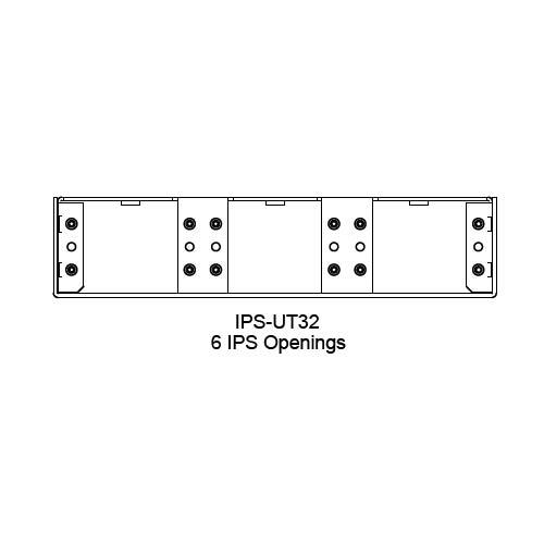 FSR IPS Wall Plates, Rack Mount and Under Table Mounts FSR-IPS-UT32