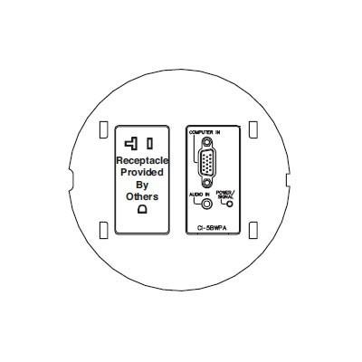 FSR Floor Boxes, SmartFit FSR-SF-CI5-PB