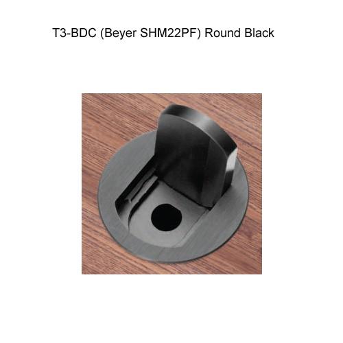 FSR T3-BDC Round Black