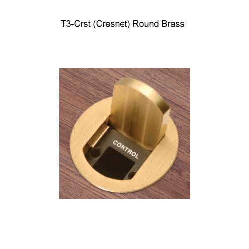 FSR T3-CRST Round Brass