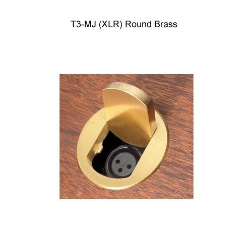 FSR T3-MJ Round Brass