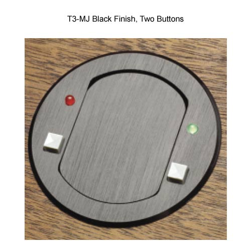 FSR T3-MJ microphone box with 2 buttons
