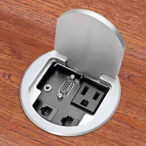 fsr t3 round single user table box in aluminum icon