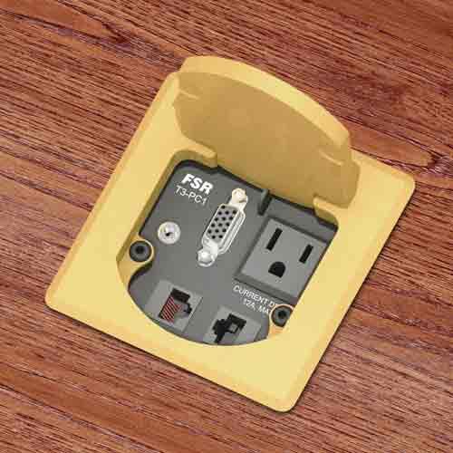 fsr t3 square single user table box in aluminum icon