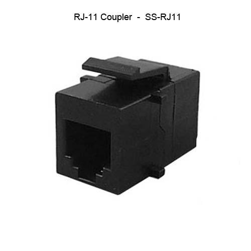 RJ-11 coupler