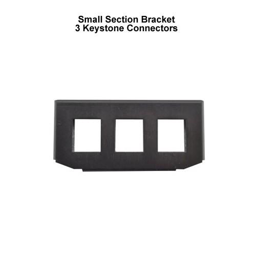 Small Bracket 3 Keystone Connectors