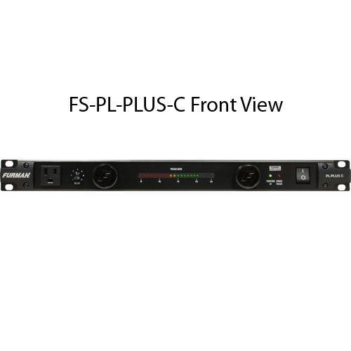 furman sound classic series power conditioner plus c front view icon