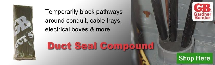 Gardner Bender duct seal compound