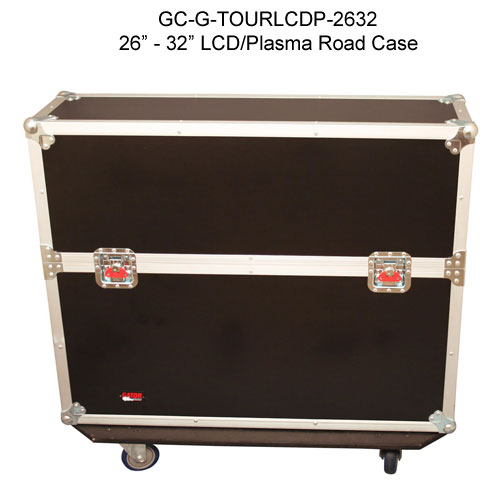 gator cases 26 through 32 inch g-tour lcd and pasma road case closed icon