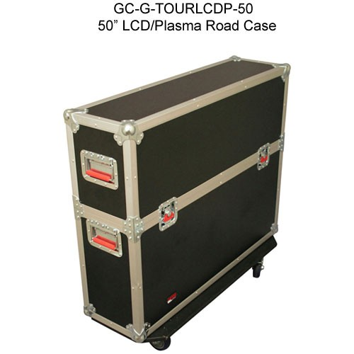 top view of gator cases 50 inch g-tour lcd and pasma road case closed icon