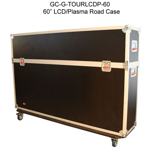gator cases 60 inch g-tour lcd and pasma road case closed icon