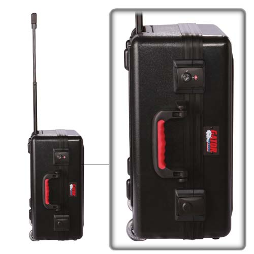 Gator Laptop and Projector Case closed with handle extended - icon