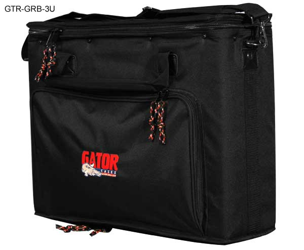 front view of 3u gator rack bag icon