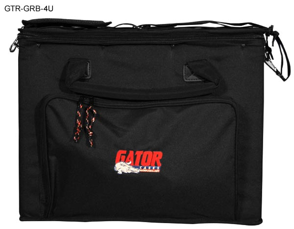 front view of 4u gator rack bag icon