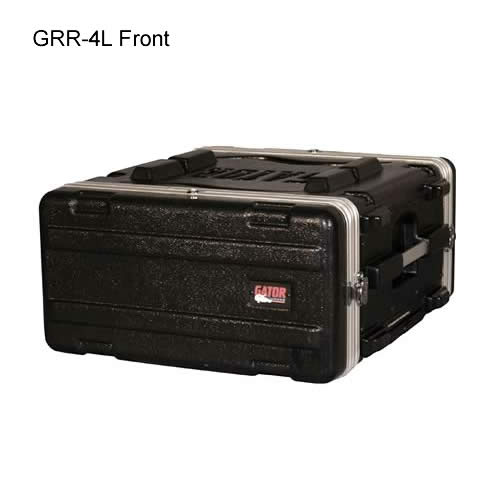 front view of gator cases closed 4l rolling case icon