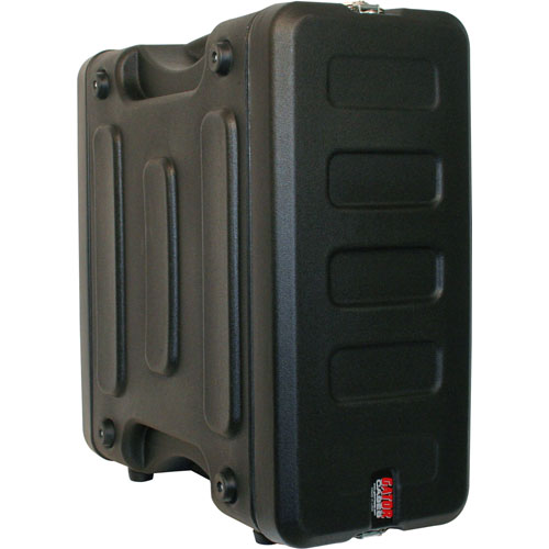 side and front view of gator industrial roto mold rack case icon