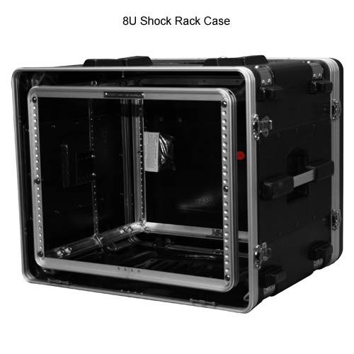 gator polyethylene 8 space shock rack case open icon