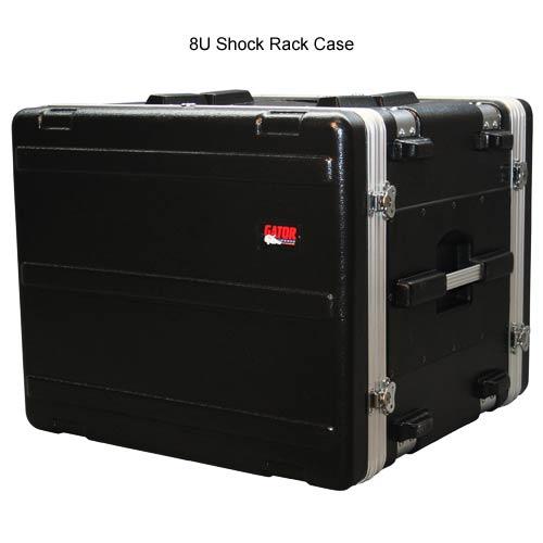 gator polyethylene 8 space shock rack case closed icon
