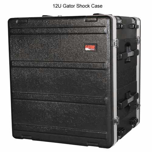 gator polyethylene 12 space shock rack case closed icon
