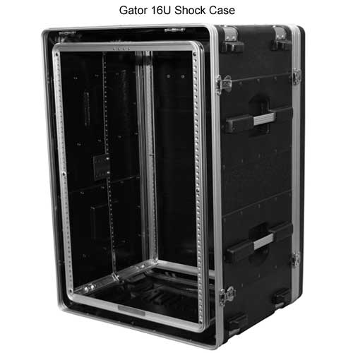 open gator polyethylene 16 space shock rack case icon