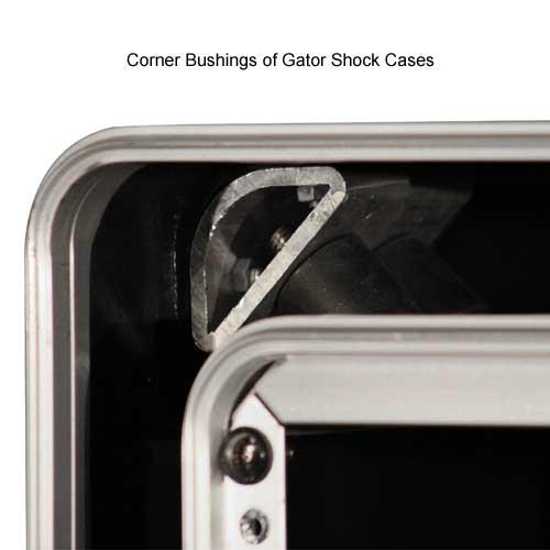 corner bushings for gator polyethylene shock rack cases icon
