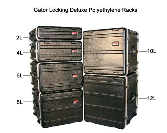 gator locking deluxe polyethylene racks in various sizes icon