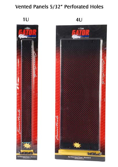 gator cases vented panel with perforated holes in package icon