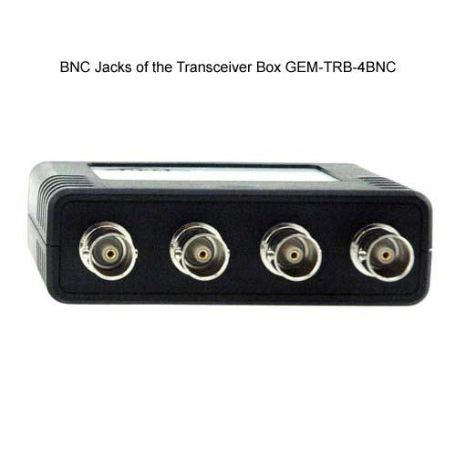 bnc jacks on the gem electronics tranceiver box icon