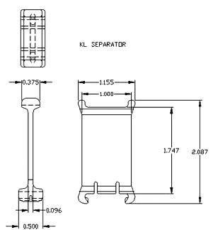 drawing of KL link separator