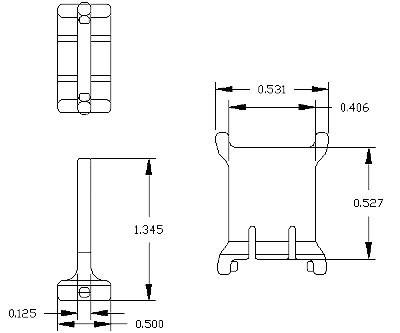 Nylatrac KS Series snap-in Separator