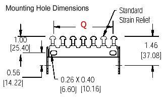 SP series mount bracket drawing