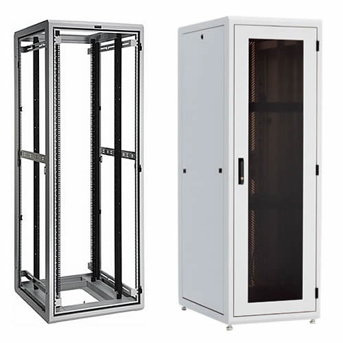 great lakes gl840e-2432 e-series enclosure, base unit and with side panels and door icon