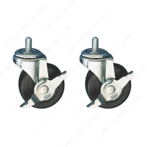Great Lakes Casters, Levelers and Anchors for Enclosures