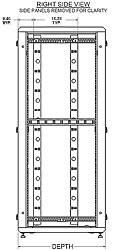 side view enhanced series enclosures