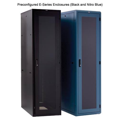 preconfigured e-series enclosures - black and nitro blue - icon