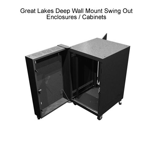 Great Lakes Wall Mount Swing Out Enclosure - icon